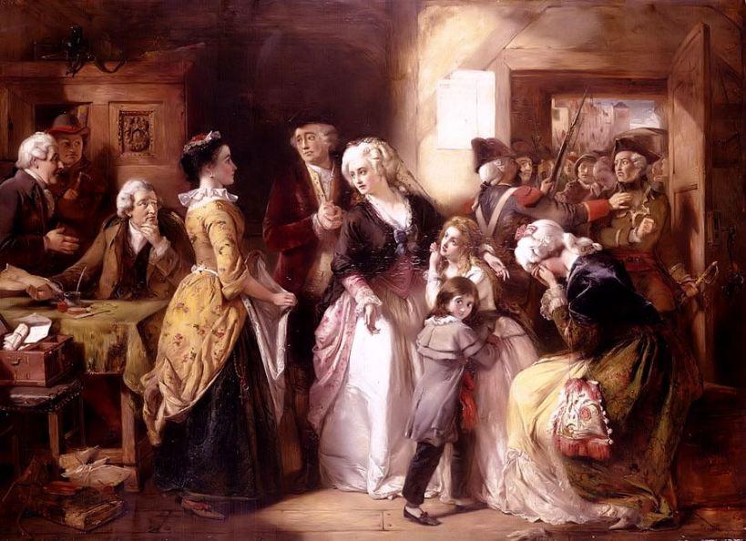 Arrestation de Louis XVI et Marie-Antoinette à Varennes en 1791