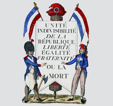 liberté égalité fraternité ou la mort