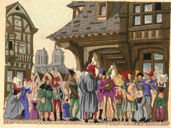 Habitant Des Villes Au Moyen Age