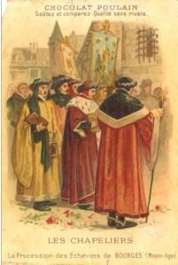 chapeliers moyen-age