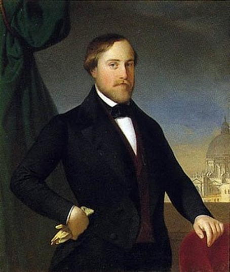 Henri V Le comte de Chambord dans les années 1840 (palais ducal de Modène).